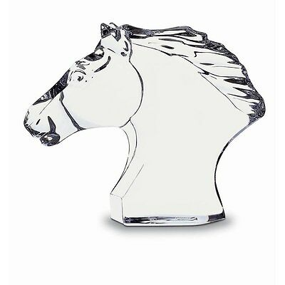 Baccarat Horse's Head sm 12 cm New Made in France