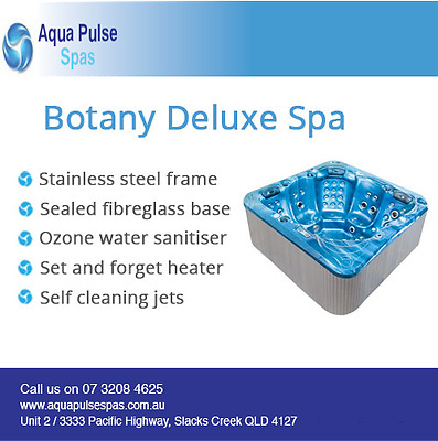 Botany Deluxe 5 Seater Portable Indoor Outdoor Therapy Spa Pool / Hottub Jacuzzi