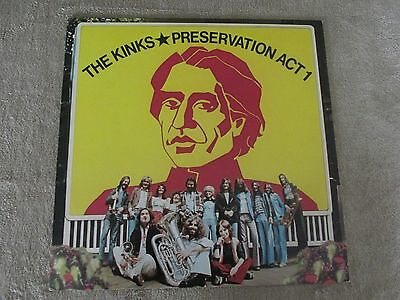 The Kinks  (Peservation Act 1)  Lpl1-5002   1973