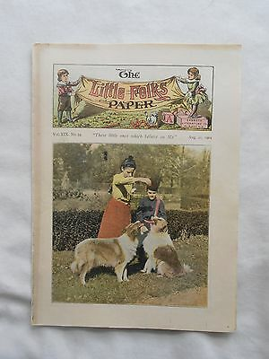 The Little Folks Paper Booklet-Look!!--August 21,1904