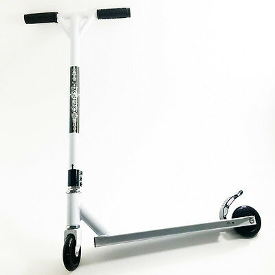 Scooter Complete, 1 pc Construction Bar, Deck and Fork, 100mm