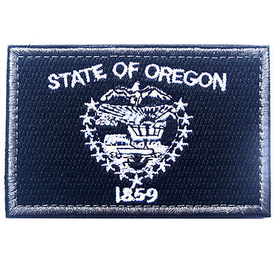 USA Oregon OR STATE FLAG U.S. ARMY EMBROIDERED MORALE TACTICAL PATCH