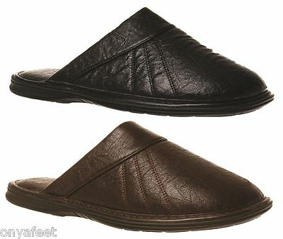 New Mens Grosby Nathan(Ga) Comfortable Slippers Moccasins Slip On Shoes