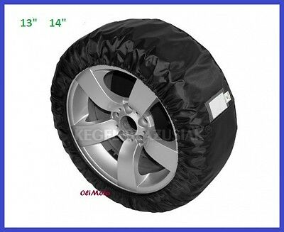 "Protective Cover For Spare Wheel  And Tyres 13"" 14"""
