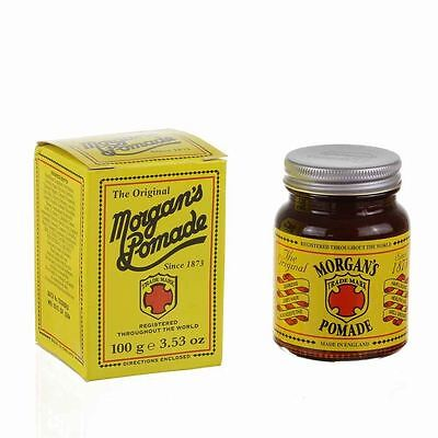 Morgan's Pomade - 100g - tradionsreiche Pomade aus England 100g (4,7 €/100g)