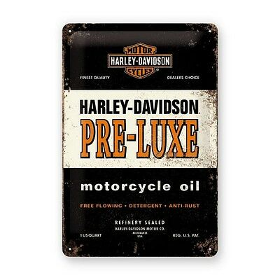 Plaque décoration Harley Davidson Luxe motocycles custom Biker chopper HD 22175