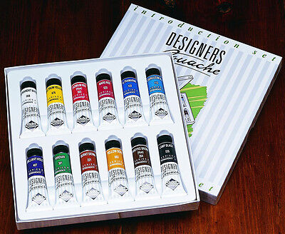 Daler Rowney Designer Gouache Introduction Set