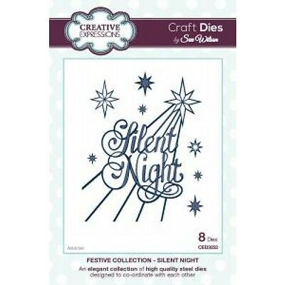 Craft Die CED3032 Sue Wilson Festive Collection - Silent Night