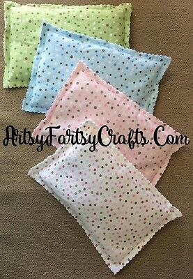 Corn Filled Heating Pad or Cold Packs - Reusable Microwavable Freezable Bag