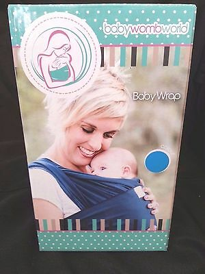 Baby Sling Wrap Carrier for newborns, perfect child carrier for a parent! Blue