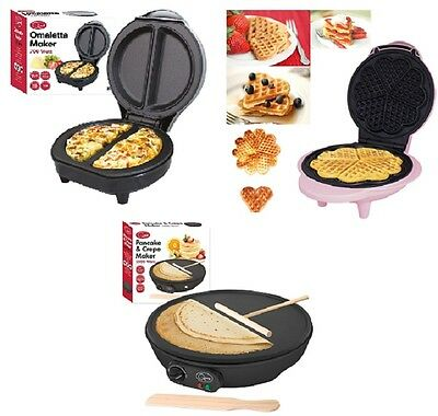 New Electric 700W Omelette Maker/Waffle Maker/Pancake Crepe  Non Stick