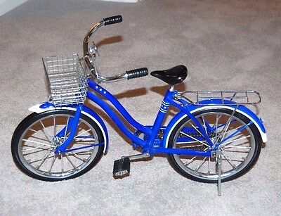 American Girl Molly's Blue Cruiser Bicycle-Retired-Great Condition