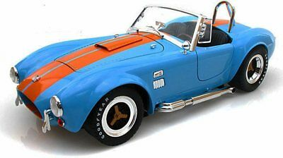 1965 Shelby Cobra 427 S/C Convertible Blue Shelby SC129 1/18 Diecast Model Car