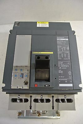Square D PJ800 PJA36080CU33A  800 amp LSI  PowerPact I line 100% rated TESTED