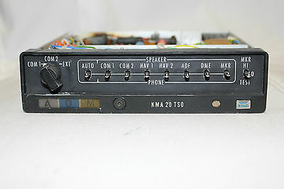 King KMA-20   Marker beacon receiver & Isolation Amplifier - PRICE REDUCED
