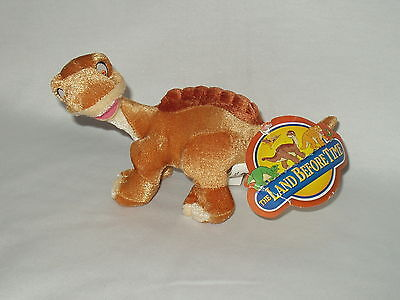 "THE LAND BEFORE TIME Universal Studios 9"" LITTLE FOOT Dinosaur Toy 2005 w/ tag"