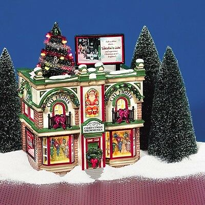 DEPARTMENT 56 55348 City Lights Christmas Trimmings