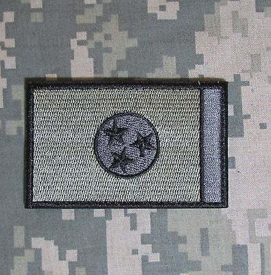 Tennessee State Flag Acu Tactical Usa Army Velcro® Brand Morale Badge Patch