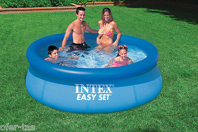 PISCINA HINCHABLE INTEX EASY SET 28110NP 244x76 cm (SIN DEPURADORA)