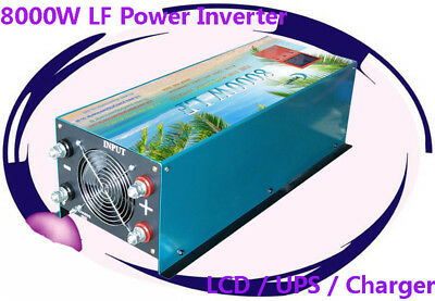 32000W/8000W LF Pure Sine Wave 12V DC/240VAC 50Hz Power Inverter LCD/UPS/Charger