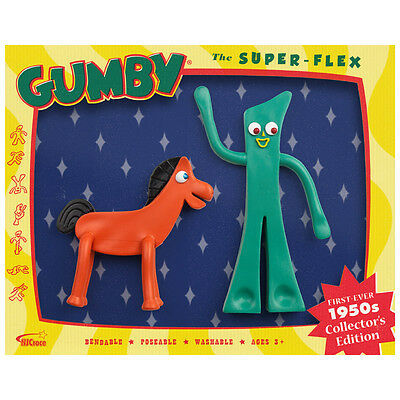 Gumby and Pokey 1950 TV Show Bendable Figure Set