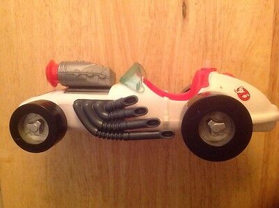 Vintage 1989 Kenner Real Ghostbusters Ecto-500 Race Car Vehicle
