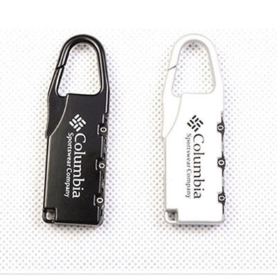 5Pcs Suitcase 3 Digit Password Lock Padlock Security Backpack Mail Box Locker