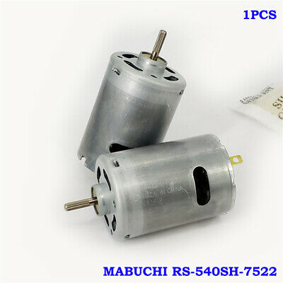 MABUCHI RS-540SH-7522 DC 6V-12V 30000RPM High Speed Large Torque Motor DIY Drill