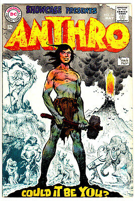 SHOWCASE #74 (VF+) 1st Appearance of ANTHRO! by Howie Post! 1968 DC Silver-Age