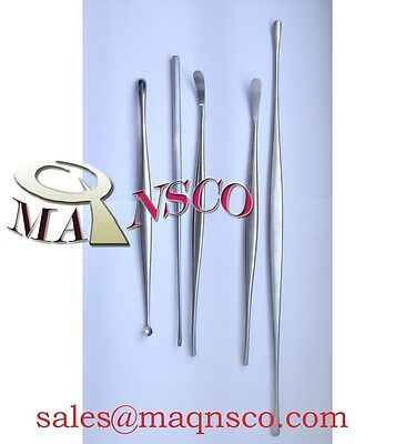 Penfield Dissector Set Surgical Instruments set of 5pcs by MAQNSCO