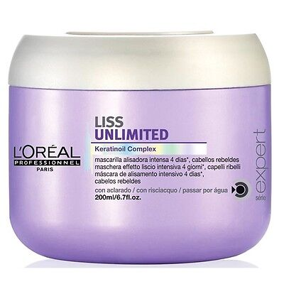 Masque Liss Unlimited 200 Ml L'oreal Professionnel