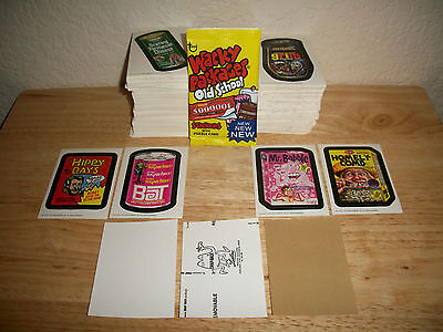 2011 Wacky Packages Old School Series 3 Lot Of 30 Different Stickers>Mixed Backs