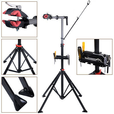 "Pro Bike 41""To 75""Repair Stand Adjustable W/Telescopic Arm Bicycle Cycle Rack"