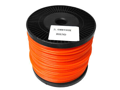 Brushcutter / Strimmer / Trimmer Nylon / Cord Line 3.0mm x 90m Long - Round 3mm