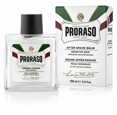 Proraso ITALY AFTER SHAVE BALM - For sensitive skin with green tea and oats