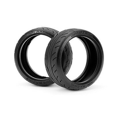 HPI Racing RC Car 1/10 Super Drift Tire 26mm Radial Type A 2pcs 4402