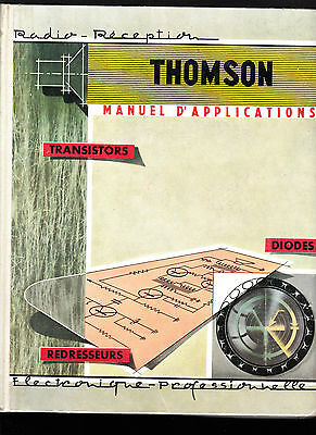 Thomson  Manuel d'applications  Transistors – Diodes - Redresseurs