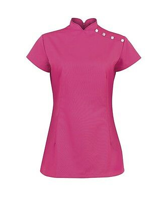 Beauty/healthcare Ladies Nf959 /salon/spatunics Hot Pink Assorted Sizes Bnwt