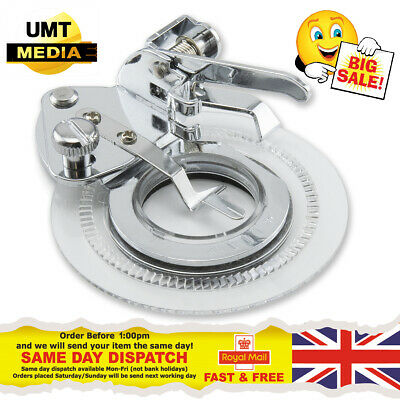 Flower / Daisy Stitch Foot For Domestic Sewing Machines Snap on Presser