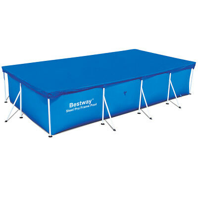 Bestway Abdeckplane Poolabdeckung Poolplane Plane Frame Pool 400x211cm 58107 DO