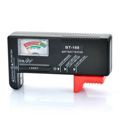 Universal Battery Tester VU Gauge for AA AAA C D 9V and Button Cell Batterie