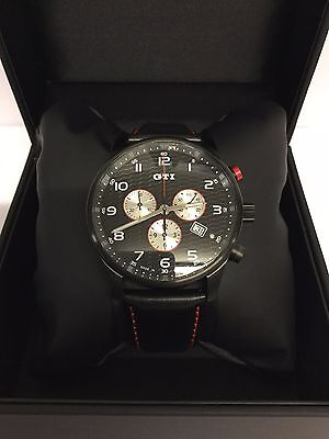 Genuine Volkswagen GTI Chronograph Watch - 000050830A 041 - Temporary Offer!