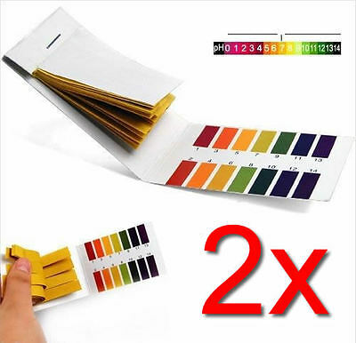 Laboratory 160 pH Indicator Test Strips 1-14 Paper Litmus Tester Urine & Saliva