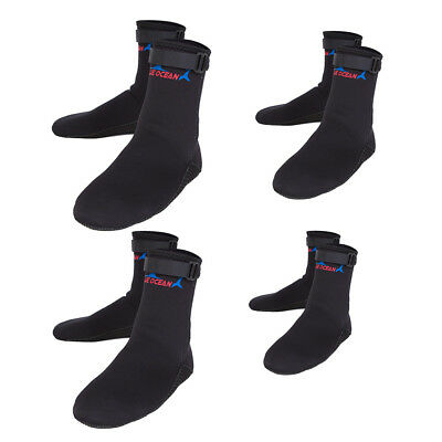3mm Neoprene Anti-Slip Water Sport Socks for Diving Swimming Scuba Surfing