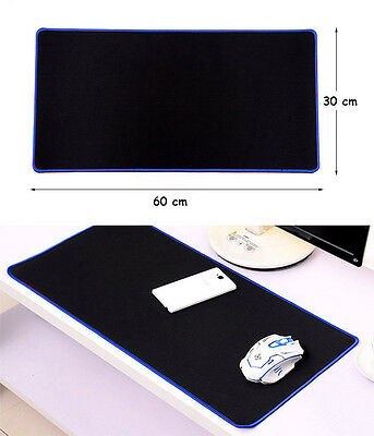New Big Long Large gaming mouse mat WIDE 60x30cm Pro pc pad Gamer non-slip cloth