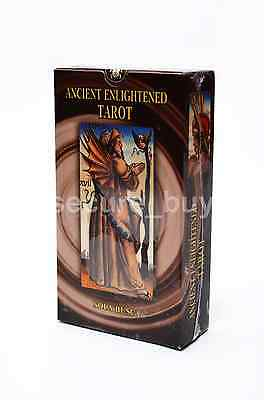 Cards Deck Ancient Enlightened Tarot Sola Busca English Booklet