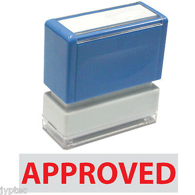 Approved, JYP PA1040 Pre-Inked Rubber Stamp Red Ink