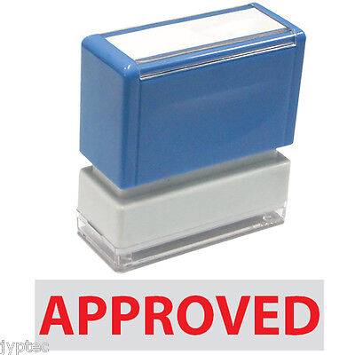 Approved  JYP PA1040 Pre-Inked Rubber Stamp Red Ink