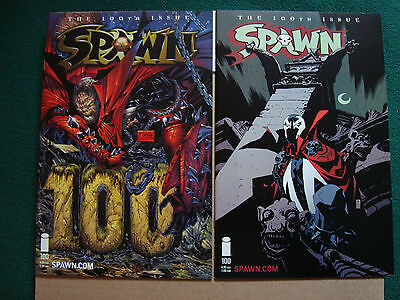 Spawn #100 Issue Lot -  6 Original Covers - And # 101 Epilogue / Perez Cover  NM