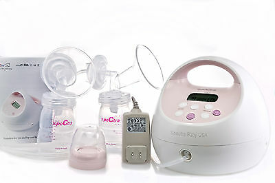 NEW Spectra Baby USA S2 Breast Pump Electric Hospital-Grade Double/Single